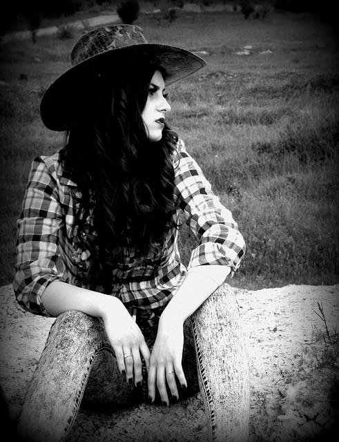 free photo cowgirl wild west girl hats free image on