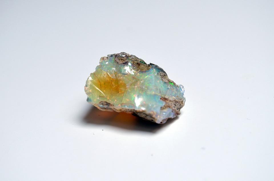 Opale, Pierre, Crystal, Minérale