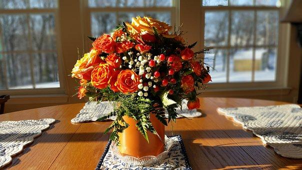 Rosen, Blumen, Herzstück, Blumenstrauß