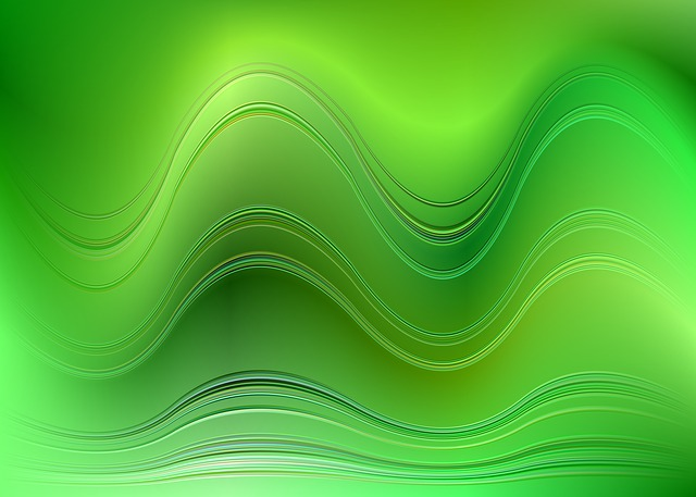 free illustration  green  wave  background  abstract - free image on pixabay