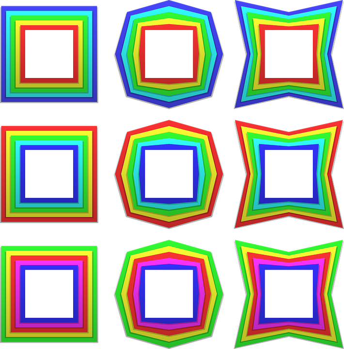 Rahmen Grenze Satz · Kostenlose Vektorgrafik auf Pixabay