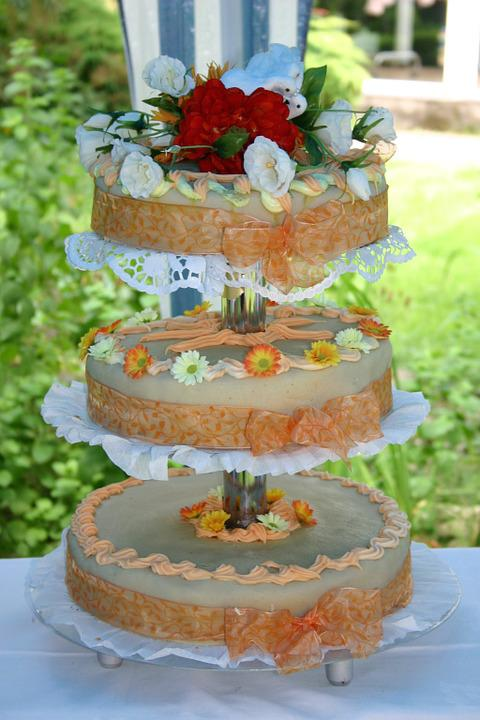 Free Photo Wedding Cake Cake Floors Free Image On Pixabay 758175