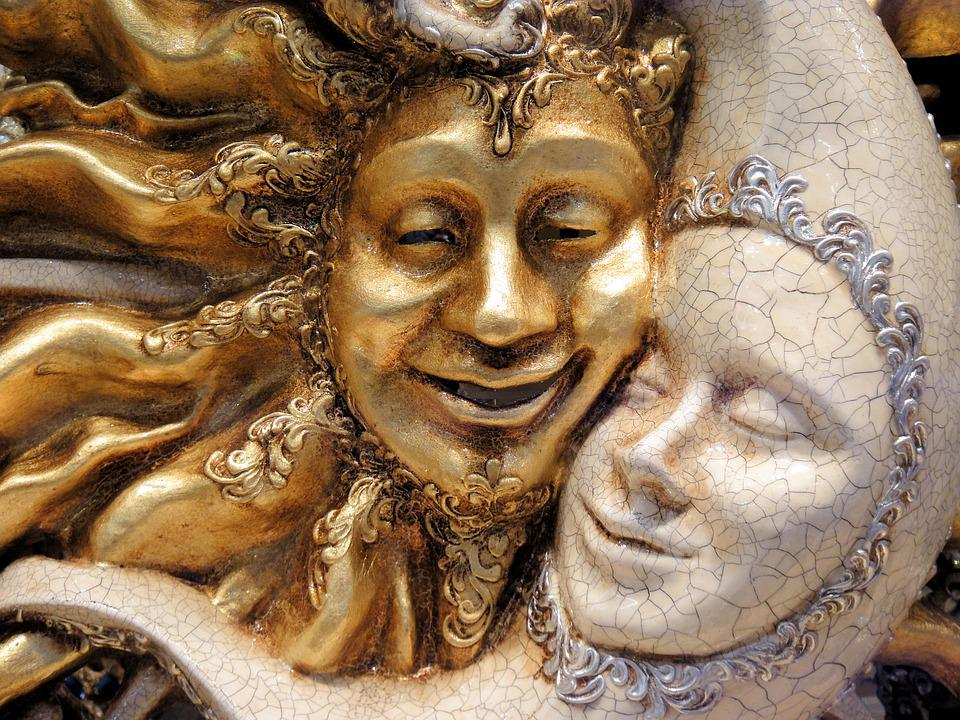 Masks Gold Venice 183 Free Photo On Pixabay
