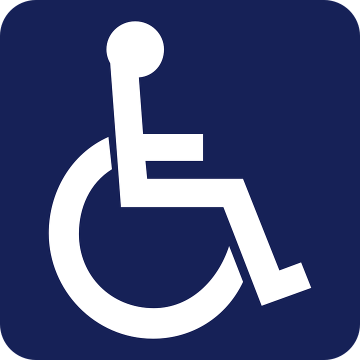 handicap sign wheelchair free vector graphic on pixabay rh pixabay com handicap vector free logo handicap vectoriel