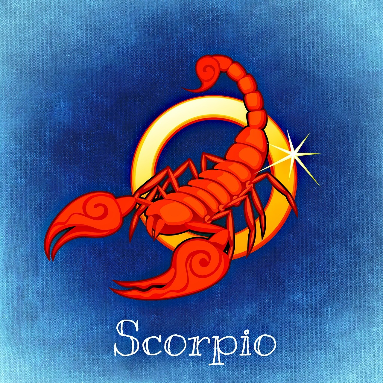 Для скорпиона поздравление с