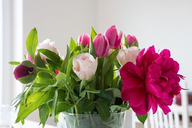 Free photo: Flowers, Peony, Tulips, Roses - Free Image on ...