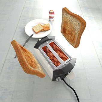 Toast, White Bread, Slices Of Toast