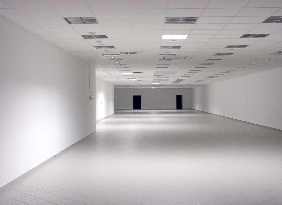 Space, Blank, Renovate, Renovated, Light, Shadow, White