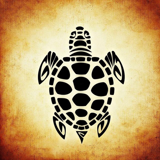 Free illustration: Turtle, Panzer, Animal, Abstract - Free ...