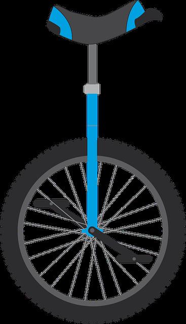 free vector graphic unicycle  wheel  bike  municycle vacation clipart art vacation clipart funny