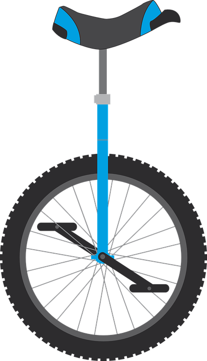 free vector graphic unicycle  wheel  bike  municycle vacation clip art free images vacation clipart black and white