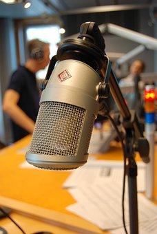 On Air, Microphone, Radio, Recording