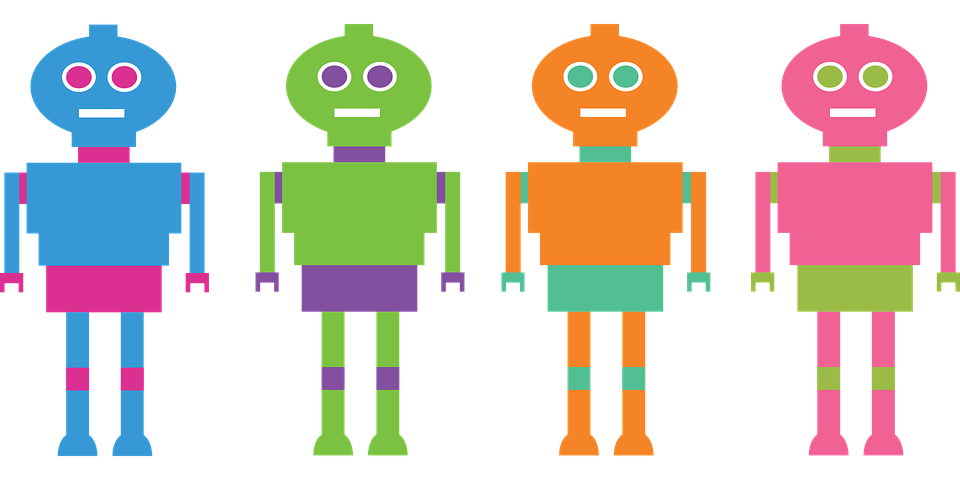 Robots, Computers, Bots, Character, Technology, Person
