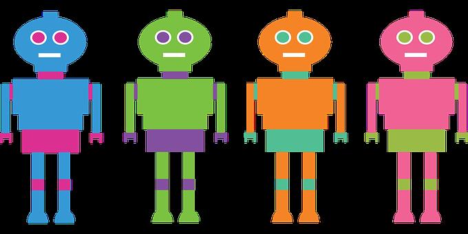 Robots, Computers, Bots, Character