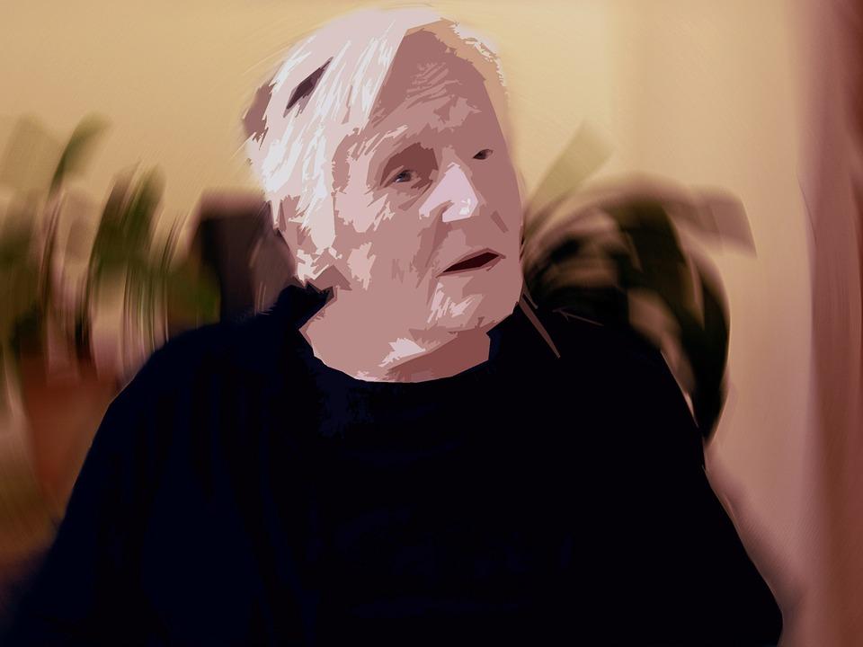 依存, 認知症, 女性, 古い, 年齢, アルツハイマー病, 退職後の家, 高齢者のケア, 年齢のスポット