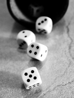 Cube, Play, Luck, Craps, Points