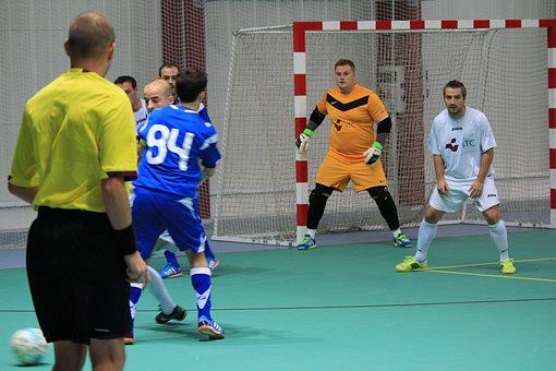 Futsal, Amador, Bola, Salão, Jogo, Esporte