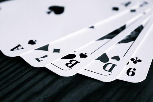 Cards, Playing Cards, Mau Mau, Pik, Skat