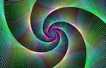 spiral, fractal, swirl