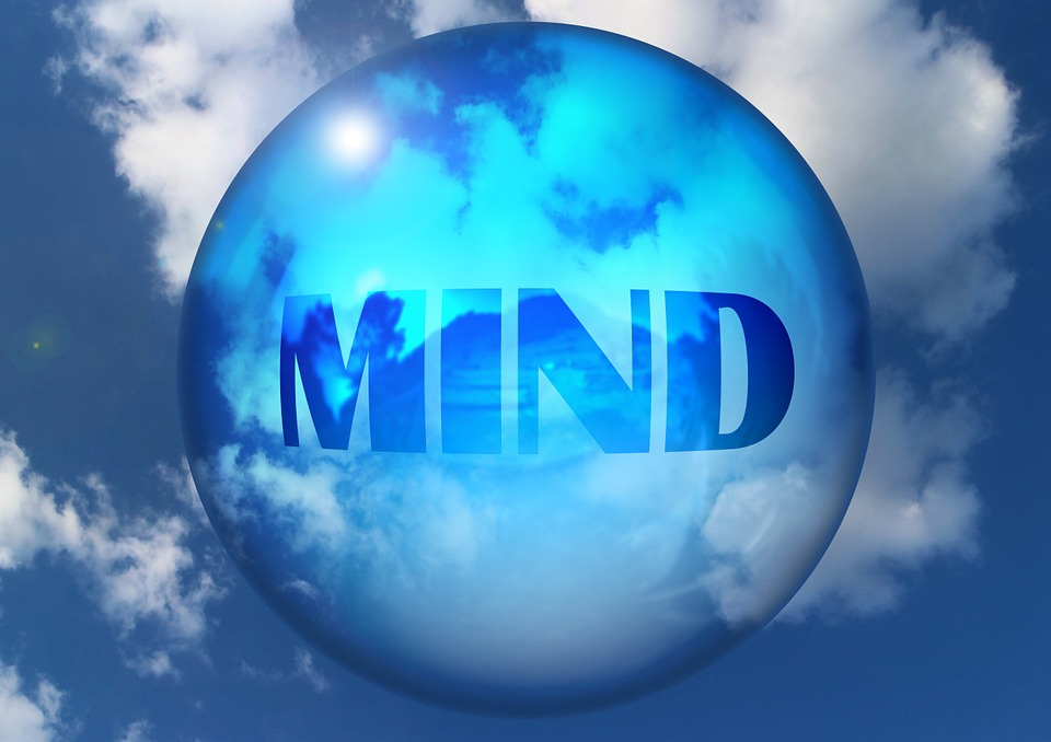 Mente, Pensare, Spirito, Bolla Di Sapone, Nubi