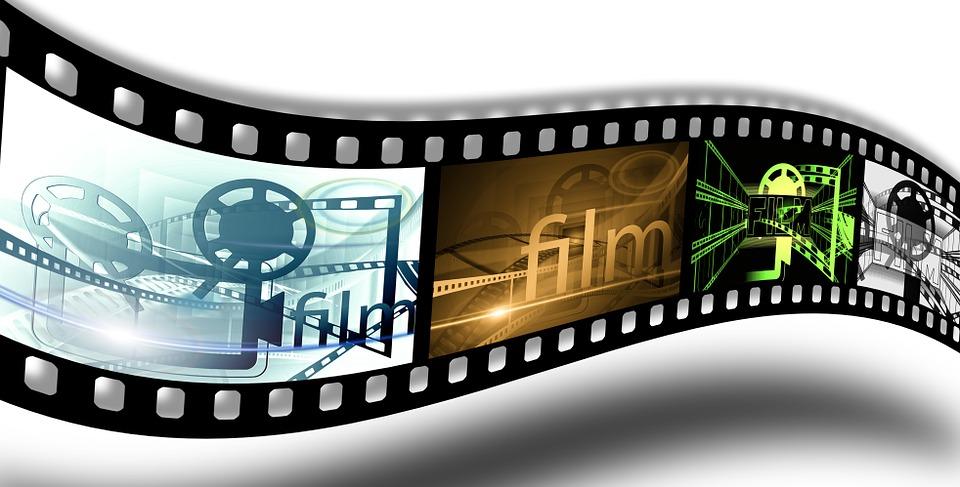 デモ, プロジェクター, 映画の映写機, シネマ, 映画, フィルム ストリップ, 黒, ビデオ, アナログ