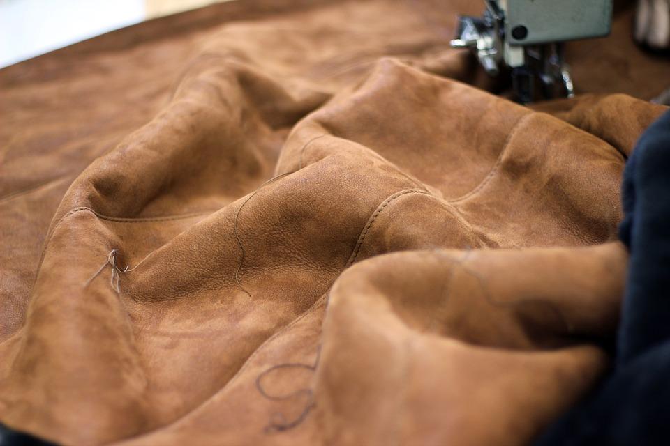 Pelle, Macchina Da Cucire, Abbigliamento, Sfondo