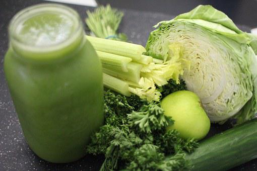 Green Juice, Cabbage, Apple, Green