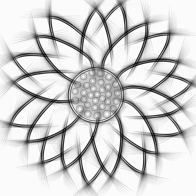 Sunflower Abstract Pencil Free Image On Pixabay