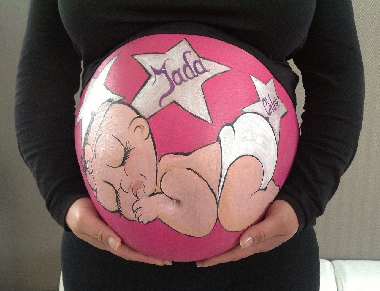 Картинки, прикольные картинки живота беременных