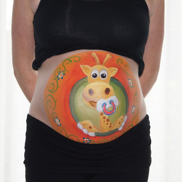 Free Photo Bellypaint Belly Painting Free Image On