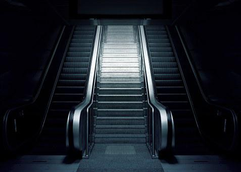 Escalator, Metro, Stairs, Subway, Urban