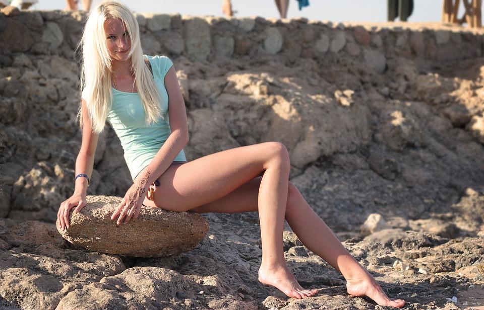 Красота фото пляж девушки