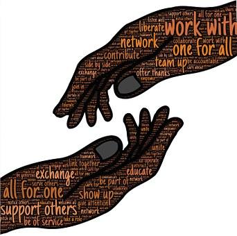 Join Hands Help Handshake Assistance Teamw