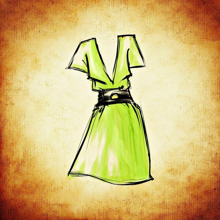 Mode Tegning Gratis På Pixabay Design Billeder WORHq7w