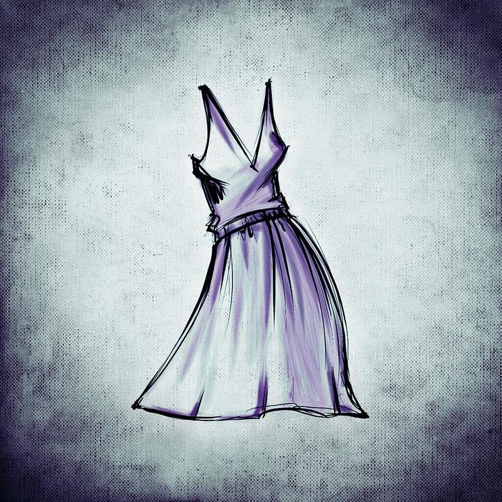 Moda Diseño Dibujo Imagen Gratis En Pixabay