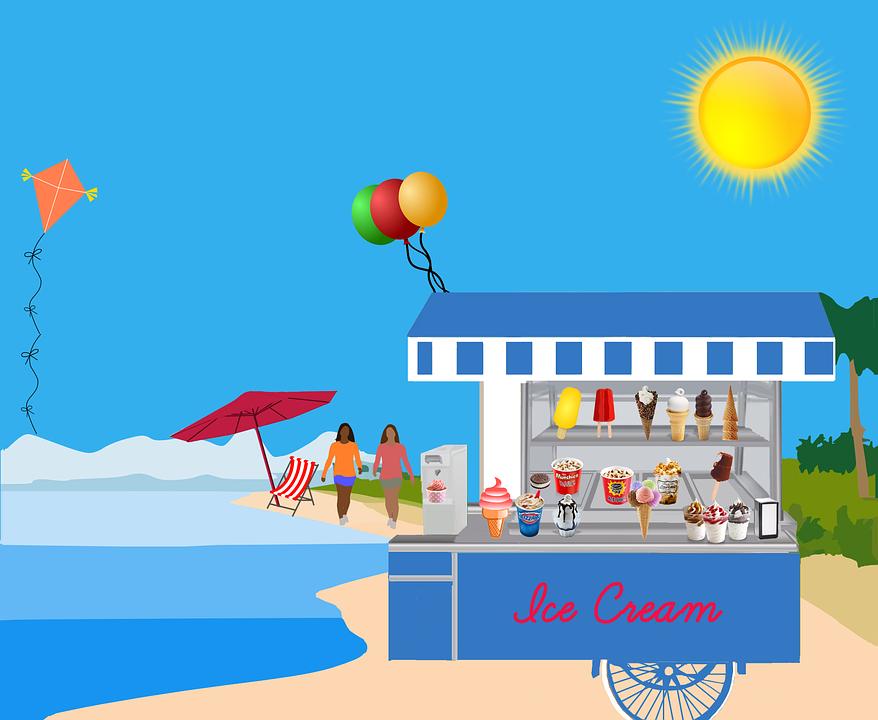 Free Illustration Ice Cream Popsicle Cornet Free