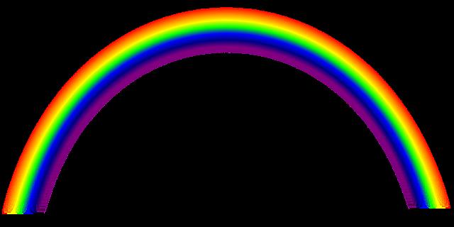 Image vectorielle gratuite arc en ciel fondu couleurs - Bracelet arc en ciel ...