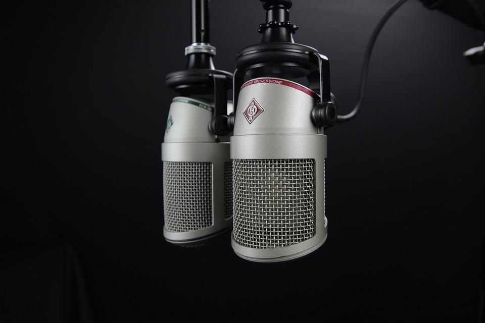 recording studio microphone wallpaper