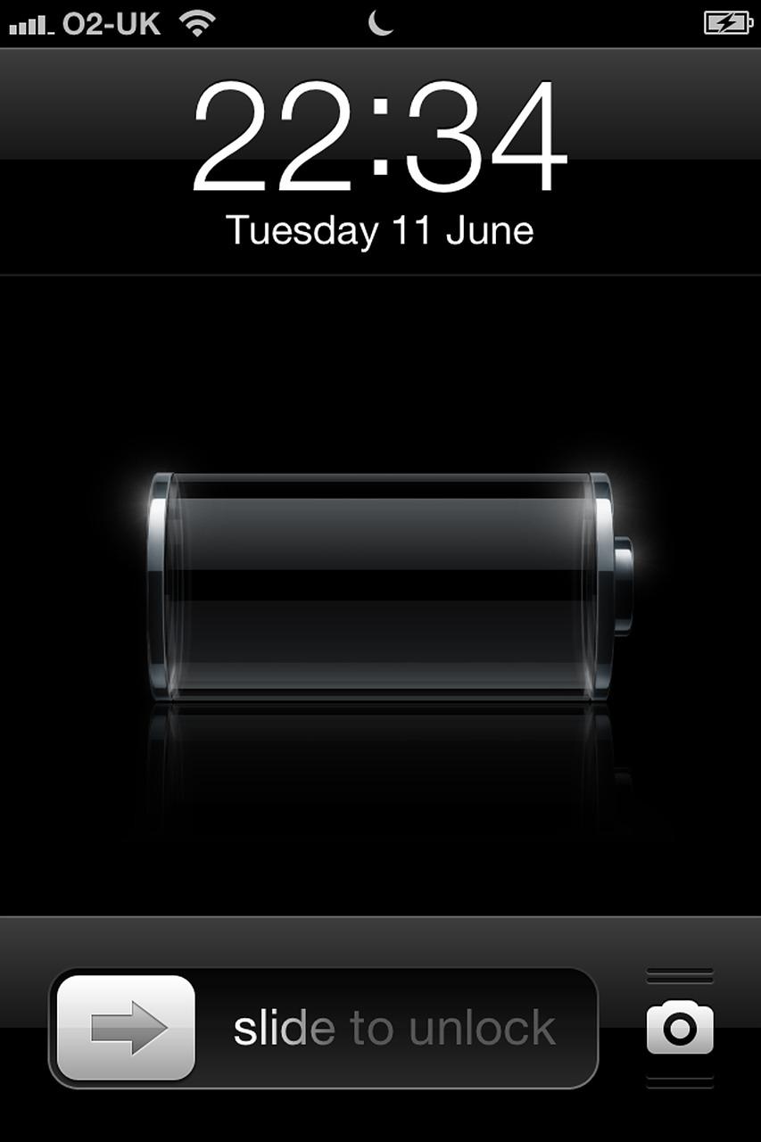 Картинка заряда айфона