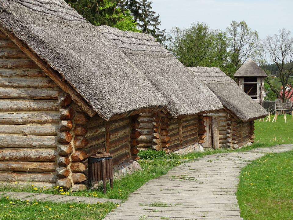 Free Photo The Middle Ages Wooden House Free Image On