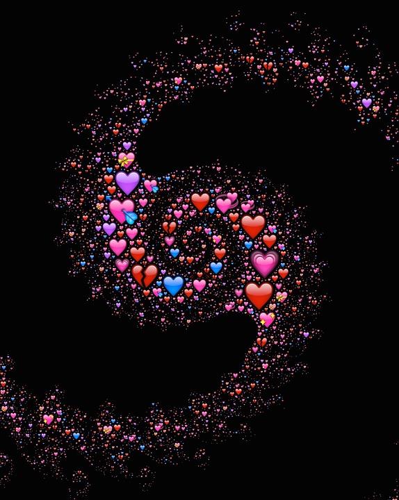 Pretty Galaxy Background Emoji - Emoji And Smiley Lock