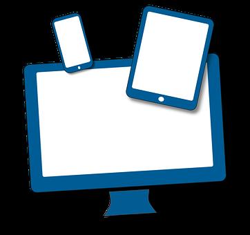 メディア, ノートパソコン, タブレット Pc, スマート フォン, 画面