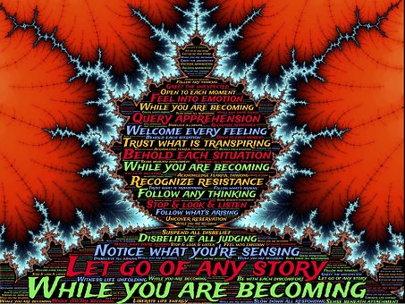 Becoming, Fractal, Design, Unfolding