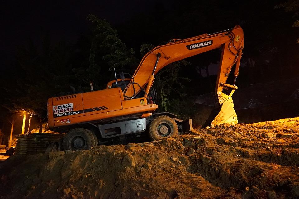 Free Photo Excavators Heavy Equipment Free Image On