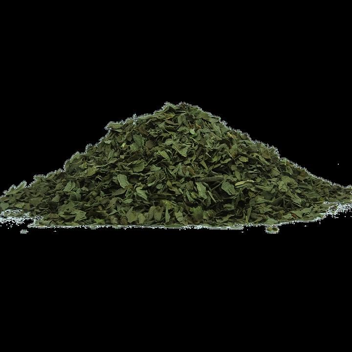 Séchées, Feuilles, Plantes, Naturelles, Vert, Sec