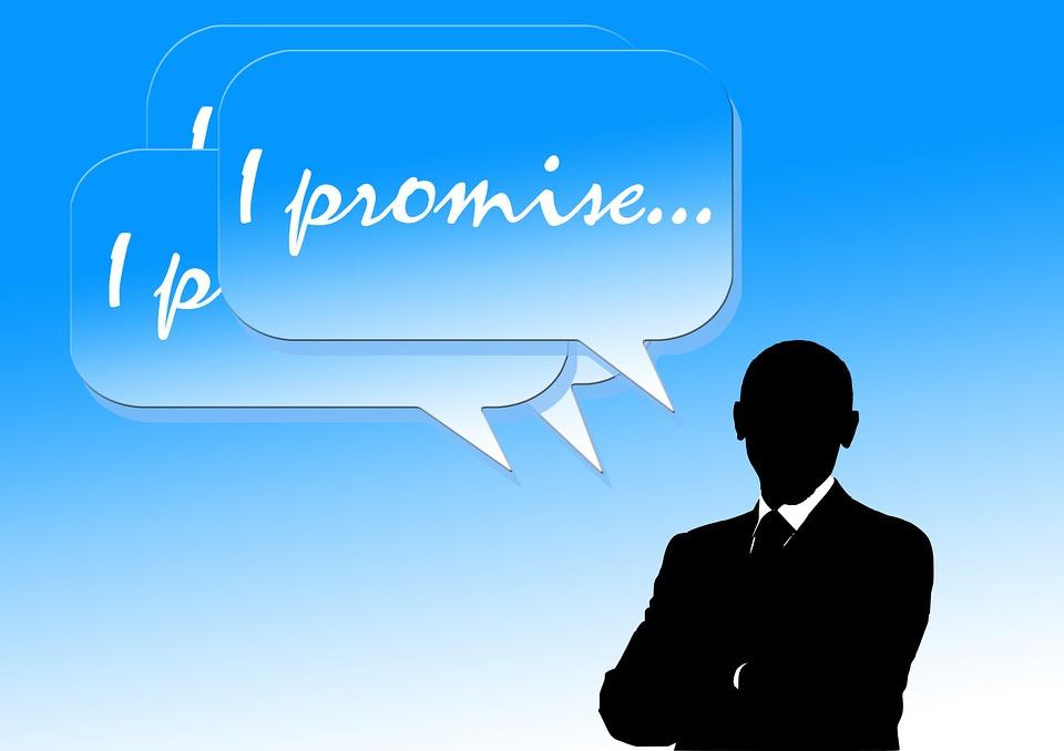 Silhouette, Palloncino, Promettere, Promessa Elettorale