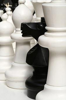 Chess, Pieces, Game, Board, Thinking