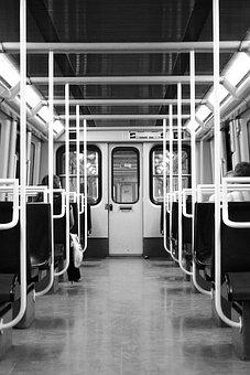 Underground, Carriage, Train, Transport