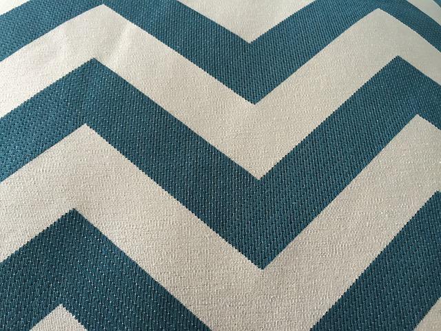 Free Illustration Texture Fabric Chevron Teal Free