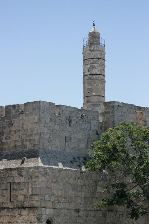 ダビデの塔 エルサレム イスラエ...